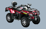 Can-Am Outlander Max 800 H.O. EFI LTD: подробнее