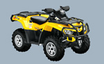 Can-Am Outlander 800R EFI XT: подробнее