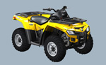 Can-Am Outlander 800 H.O. EFI: подробнее